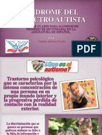Síndrome Del Espectro Autista