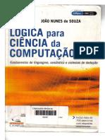 Lógica Para Ciência Da Computação - João Nunes de Souza