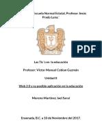 Web 2.0 y su posible aplicación en la educación