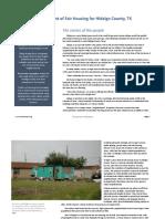 A Regional Assessment of Fair Housing for Hidalgo County, TX