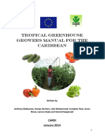 Tropical Greenhouse Growers Manual