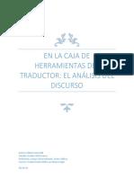 Análisis del Discurso como herramienta para la traducción