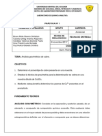 Informe 1 Gravimetria Cobre Final