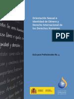 Diversidad Sexual y de Género - Derechos Internacionales de DHs