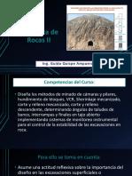 Presentacion N° 1 Introducción Mecánica de Rocas II
