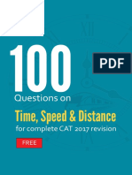 Distance and Time Questions