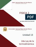 Fis 2 13 2da Ley Termod 2017-II