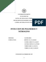 Inyeccion de Polimeros y Nitrogeno