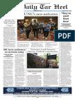 The Daily Tar Heel for Nov. 10, 2017