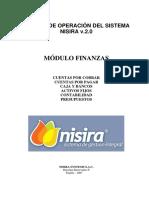 Manual Módulo Finanzas - Nisira v.2
