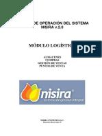 Manual Módulo Logística - Nisira v.2.0