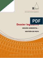 Dossier Legislativo N°56 Seguro Ambiental Gestion Pcbs