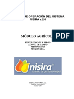 Manual Módulo Agrícola - Maquinarias - NISIRA v.2