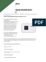 Cara Downgrade Modem Bolt Huawei e5372 _ Downgrademodem