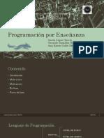 ProgramaciónEnseñanza Aaron Karen Gerardo