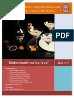 PREPARACION DE Baileys TECNOLOGIA DE ALIMENTOS UNAC