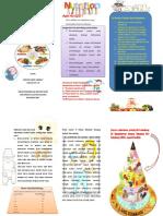 Leaflet Gizi Seimbang Untuk Balita