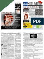"Kuta Weekly-Edition 196 ""Bali""s Premier Weekly Newspaper"""