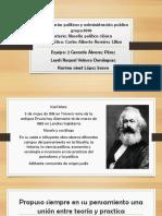 Diapositivas de Karl Marx y Friederich Engels