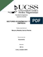 Sectores Económicos y Tipos de Empresa