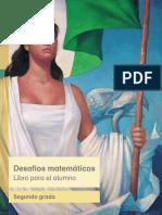 Desafios Matematicos Libro Para El Alumno Segundo Grado