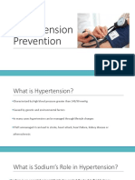 hypertension prevention class
