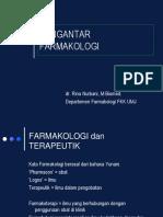 KULIAH DASAR FARMAKOLOGI Farmakokinetik-Farmakodinamik-ppt