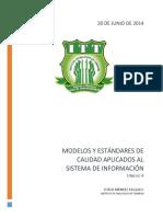 241762899 Modelos y Estandares de Calidad Aplicados Al Sistema de Informacion Docx