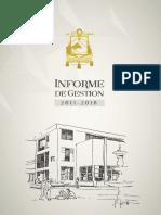 U CUENCA Informe de Gestión 2011- 2016