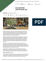 17 Cursos Grátis Para Aprender Sobre Finanças e Onde Investir Seu Dinheiro - Economia - UOL Economia