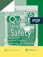 Tammy Foster, Purnendu C. Vasavada-Beverage Quality and Safety -CRC Press (2003)