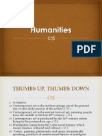 Chapter 1.1 Humanities