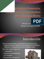Arquitectura Funeraria, Religiosa Y Conmemorativa De La [Autoguardado].pptx