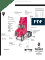 Material Camion 9200i International Tractocamion Dimensiones Capacidades Detalles Especificaciones Tecnicas