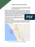 Informe Estudió Hidrológico e Hidráulico Cantamar