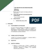 PLAN DE PROYECTO DE INVESTIGACIÓN
