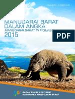 Kabupaten Manggarai Barat Dalam Angka 2015