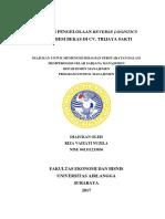 Analisis Pengelolaan Reverse Logistics Drum Besi Bekas Di CV. Trijaya Sakti