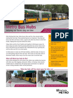 Bus Hub Fact Sheet