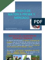 CAPÍTULO II. Estudio de Materia Prima y Mercado