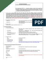 Petunjuk Pengisian Daftar Pengantar