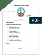 Fenómeno Del Niño Costero - Hidrológía