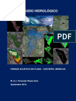 Estudio Hidrológico SixFlags Oaxtepec