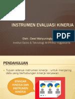 4. Instrumen Evaluasi Kinerja