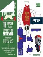 Paper Toy Morelos