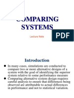 Pertemuan 15 Comparing System