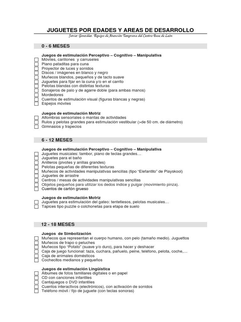 pdf Juguetes Juguetes pdf Los Edades Edades Juguetes Por Los Edades Por Los Por Yfgb67y