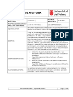 Informe Auditoria Informatica