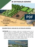 Análisis de Un Paisaje Agrario