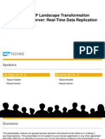 DMM164 - SAP Lanscape Transformation Server (SLT)